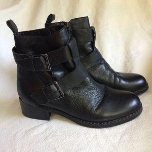 Gentle Souls Ankle Moto Boots